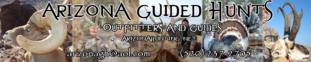 arizona guided hunts banner